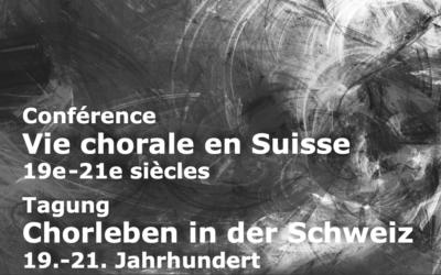 Conférence : Les choeurs vaudois en temps de pandémie